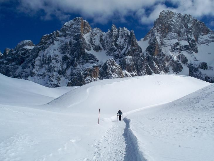 Dreaming about peaceful walks through the Dolomites #olympicStyle