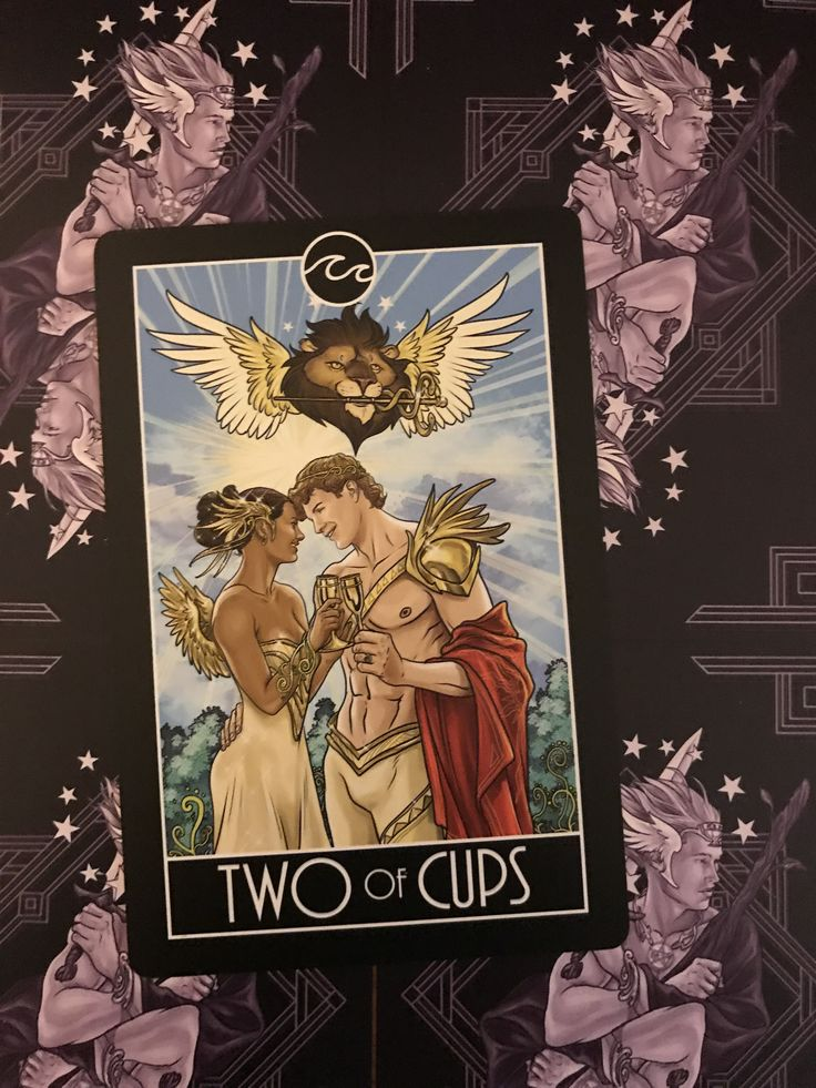 Featured card of the day 2 of cups divine diversity