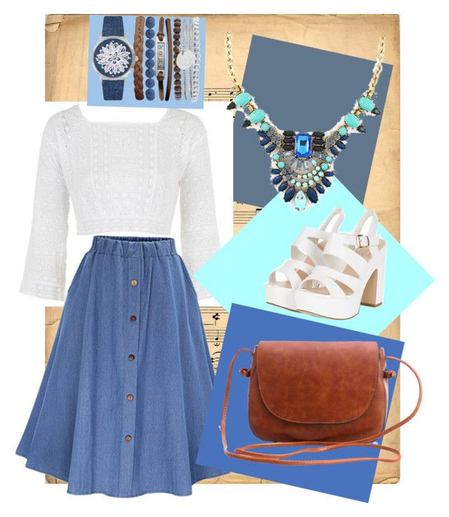 """""""Statement 💬🗯"""" by imcute1550 on Polyvore featuring Topshop, Jessica Carlyle and statementnecklaces"""