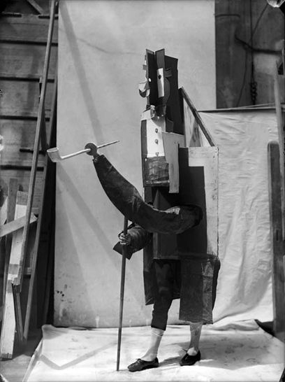 """Costume for the French Manager in """"Parade,"""" Ballets Russes, 1917"""