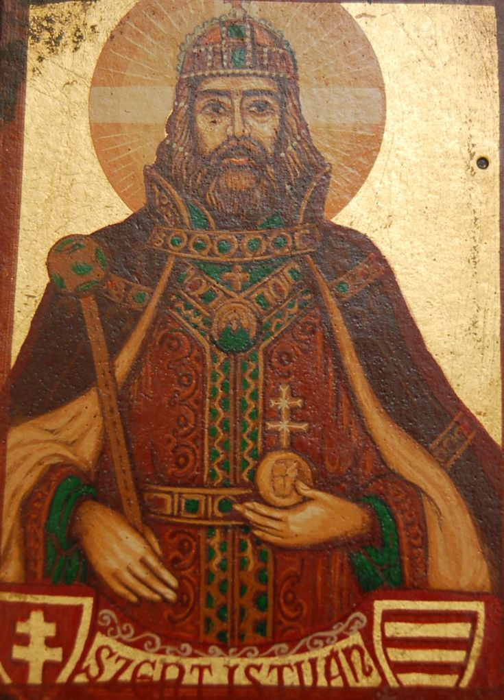 Saint Stephen I Hungary Aetheling - 23rd great grandfather