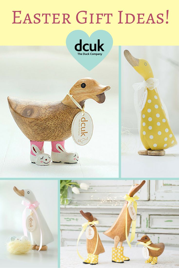 86 best easter garden home club images on pinterest easter we have some lovely easter gift ideas for all the family at the duck company negle Image collections