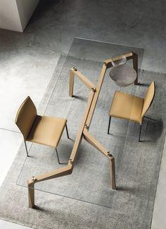 GLIDE Mesa retangular by RIFLESSI design Egidio Panzera