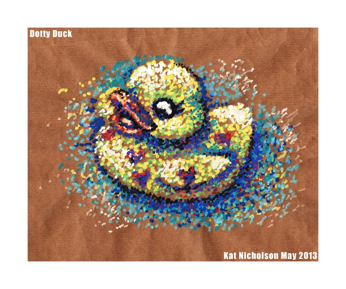 Dotty Duck by Kat-Nicholson.deviantart.com on @deviantART