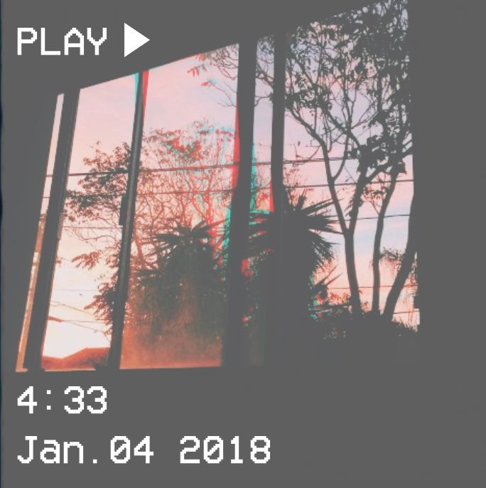M O O N V E I N S 1 0 1 Vhs Aesthetic Window Sunset Glitch Aesthetic Pictures Aesthetic Photography Pictures