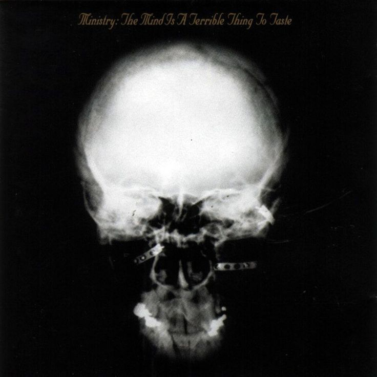 Ministry Band Art | ... of an x-ray) came from the American industrial metal band Ministry