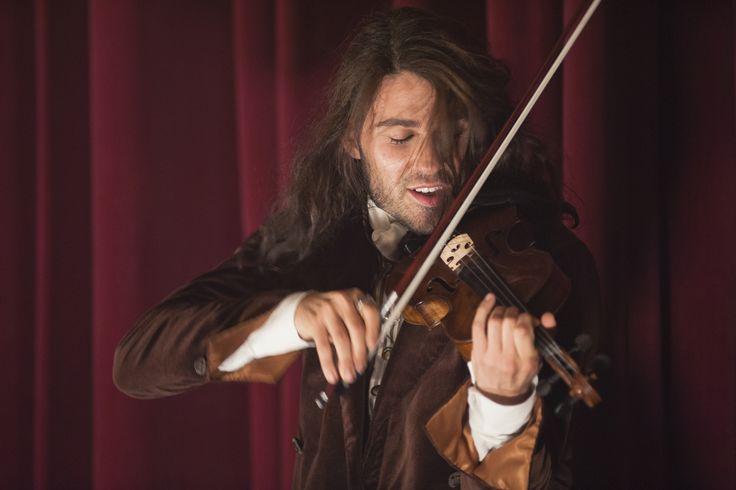 """David Garrett es Niccolò Paganini en """"El Violinista Del Diablo"""""""