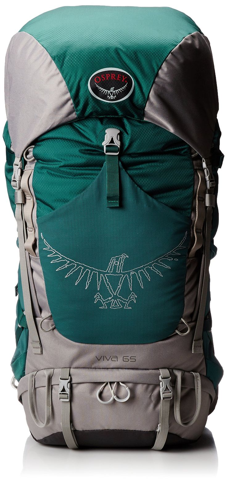 Amazon.com: Osprey Women's Viva 65 Backpack, Emerald Green, One Size