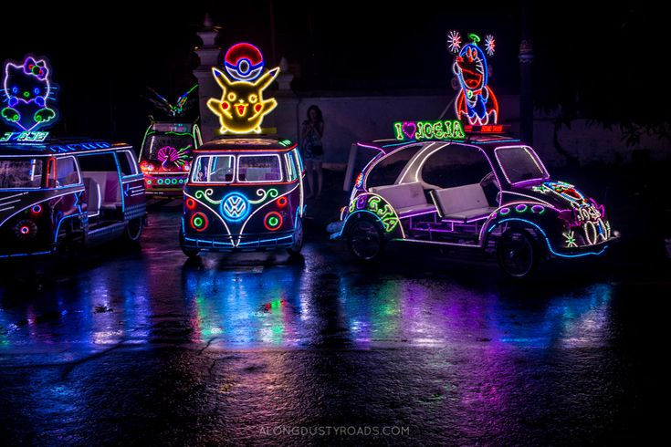 Alun - Alune Seletan | Yogyakarta | Indonesia | Light Up Push Cars