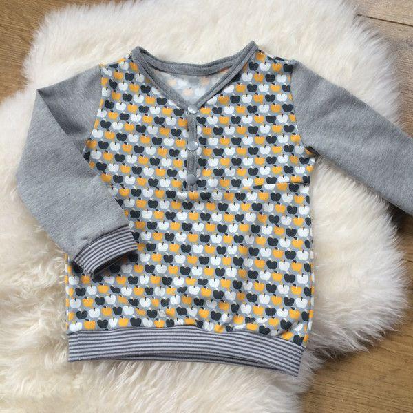 Langarmshirts - ♥ Langarmshirt gr.68/74 ♥ - ein Designerstück von Creative-Happiness bei DaWanda