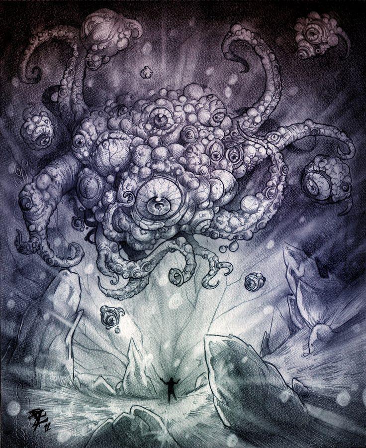 Yog Sothoth by Diego Ramirez, Chivohit on deviantART