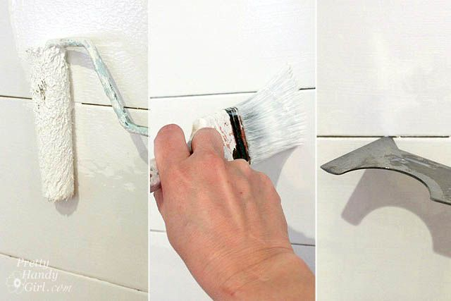 Plank Wall Tutorial - for the second laundry room redo.  Oh man, Jeremy is going to KILL me...hahah
