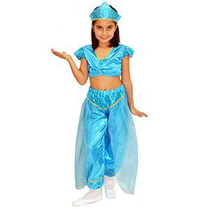 Prenses Yasemin & Jasmine Çocuk Kostümü 5-6 Yaş, kız çocuk özel gün elbisesi