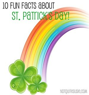 St. Patrick's Day Facts!