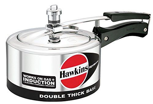 ORIGINAL HAWKINS HEVIBASE 3 LITRE CODE IH 30 DOUBLE THICK BASE WORKS ON GAS AND INDUCTION PRESSURE COOKER WITH DHL SHIPPING 45 DAYS DELIVERY >>> Learn more by visiting the image link.