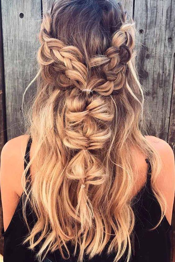 100+ Hairstyles Bohemain hairstyle