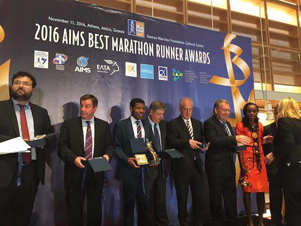 AIMS και ΣΕΓΑΣ βράβευσαν τους καλλίτερους μαραθωνοδρόμους του κόσμου για το 2016