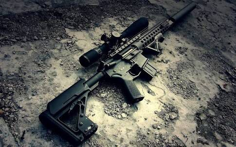 Epic airsoft rifle