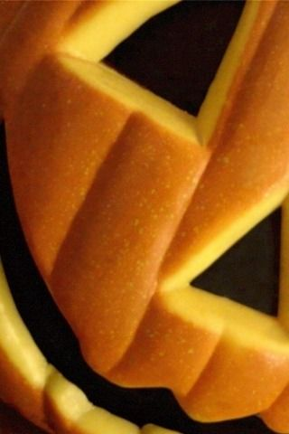Pumpkin iPhone Wallpaper