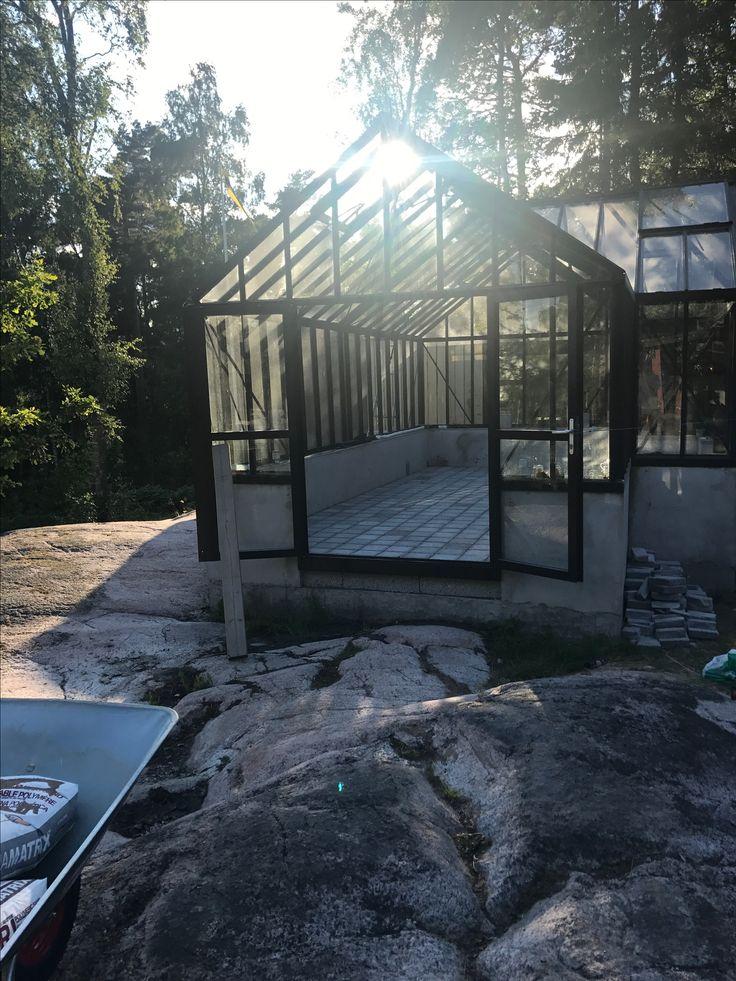 #växthusbygge #växthus #orangeri