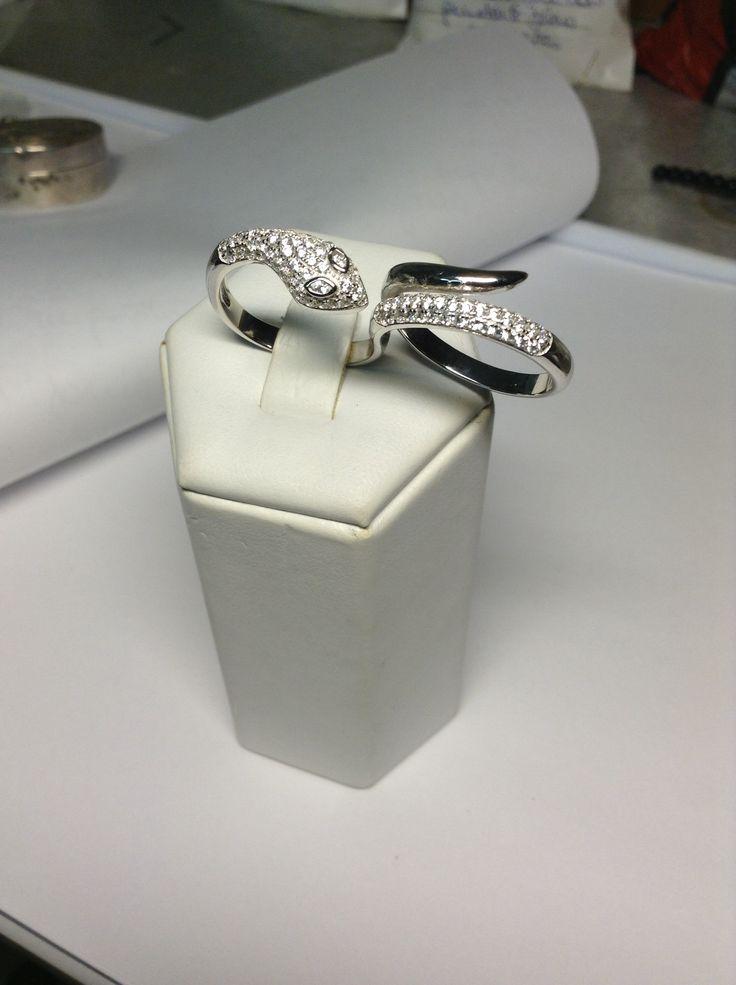 """Doppio anello """"serpente """"!!!"""