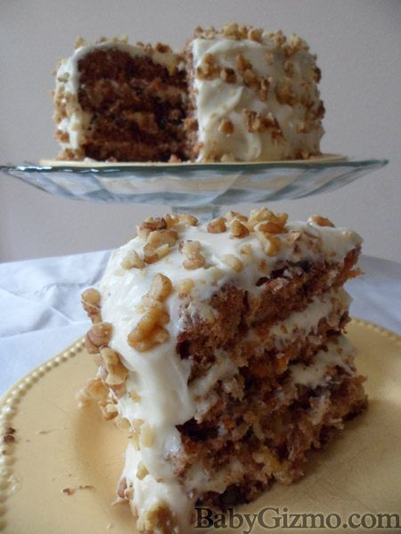 Best. Carrot. Cake. Ever. Carrot Cake recipe.