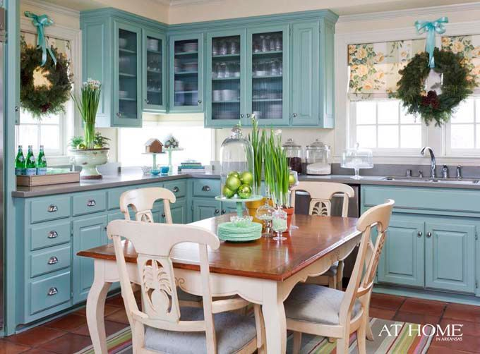 Love the cabinets and the color. Love the architecture of those chairs. Lovely!Decor, Blue Cabinets, Cabinets Colors, Kitchens Ideas, Blue Kitchens, House, Turquoise Kitchen, Cabinets Design, Kitchens Cabinets