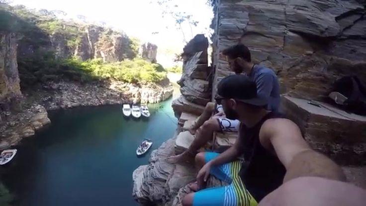 Canyons e Cachoeiras do Lago de Furnas   Capitólio - MG