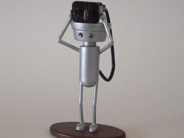 Custom Chibi Robo Figure- I love chibi robo!!