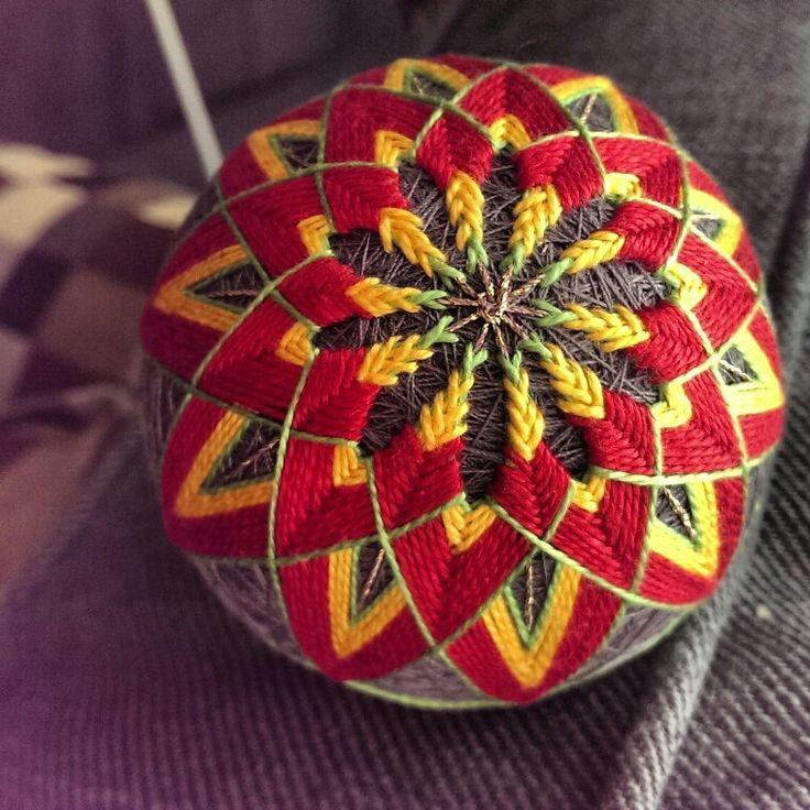 #temari #temariballs #japanesetemari #madeinitaly #handmade #fattoamano
