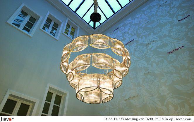 Licht Im Raum Stilio 11/8/5 Messing - Licht Im Raum verlichting & lampen - foto's & verkoopadressen op Liever interieur