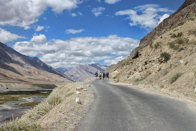 Road to Kibber Village