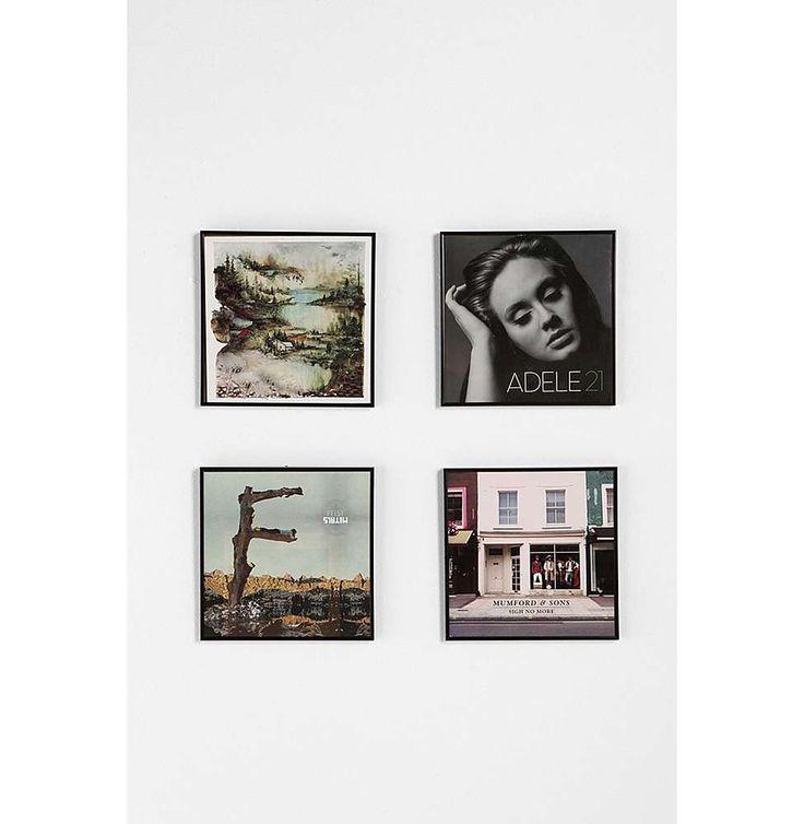 Black 13 Inch Album Frame