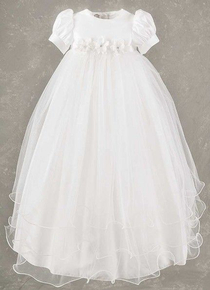 Shanna Girls Christening Gown Front