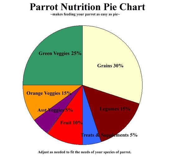 Pie Chart On Healthy Food