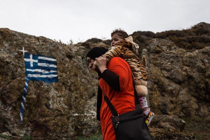 Η διαδρομή των προσφύγων στη Λέσβο, μέσα από 16 δυνατές φωτογραφίες