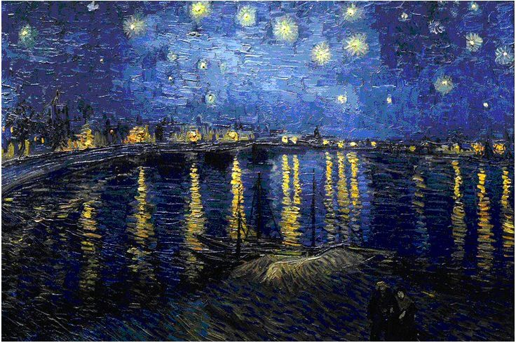 The sea and the boats - Van Gogh