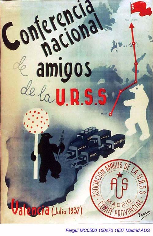 Spain - 1937. - GC - postet - autor - Fergui