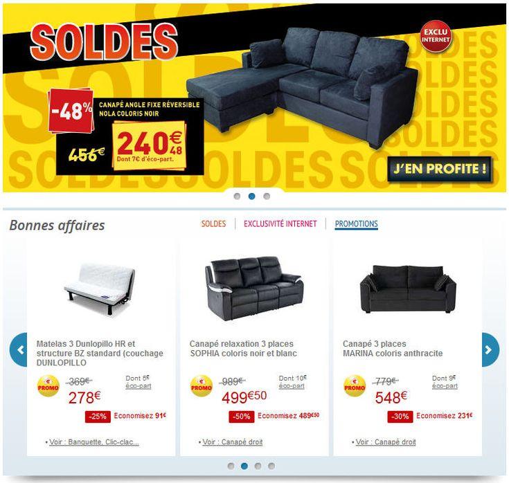 1000 ideas about canap pas cher on pinterest jet de. Black Bedroom Furniture Sets. Home Design Ideas