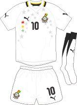 Ghana | home jersey | 2012-2013