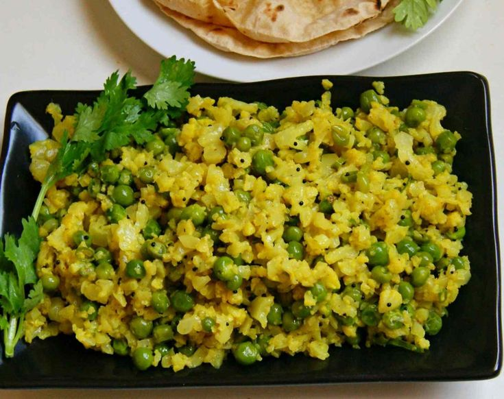 Cauliflower And Peas Bhurji Recipe