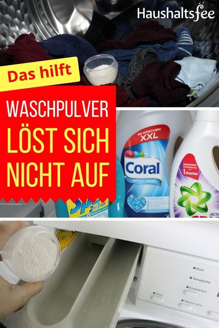 Waschpulver Lost Sich Nicht Auf Was Kann Man Tun Haushaltsfee
