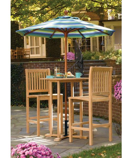 Oxford Garden Sonoma Bar Height Patio Bistro Set Outdoor Sets At Hayneedle 816 90