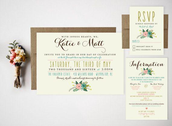 Wedding Invitation Wording Informal: 1000+ Ideas About Casual Wedding Invitations On Pinterest