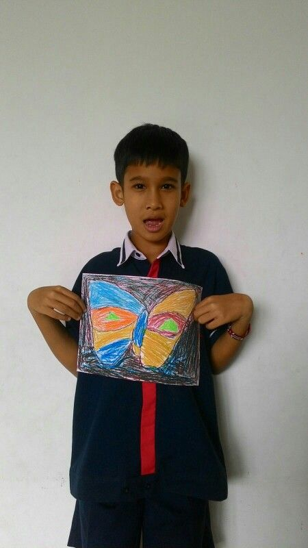 Jovan - Paul Klee - Cat and Bird @Palmtrees Montessori School
