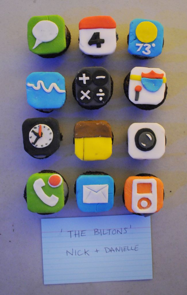 Haha this is so awesome iPhone app cupcakes