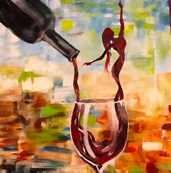 Wine Woman by Lisa Owen-Lynch, via Behance