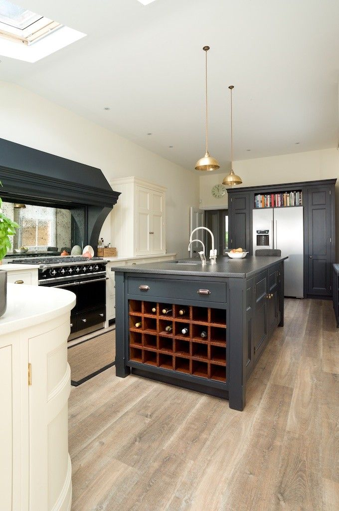 The longford kitchen contemporary victorian kitchen - Signature interiors and design kent ...