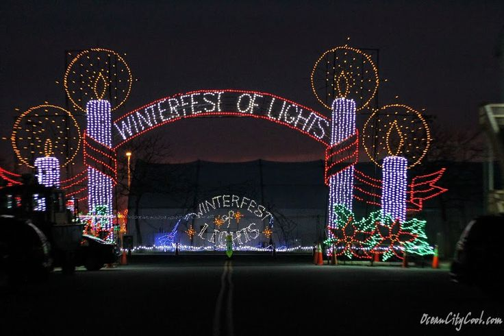 #OCEvents - Winterfest of Lights 2016 Ocean City MD begins Thursday, November 17th, 2016 at 5:30 pm.  Learn more... #oceancitycool