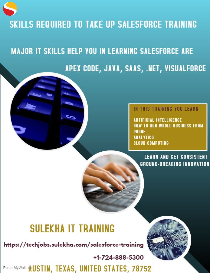 Skills Required To Take Up Salesforce Training Major It Skills
